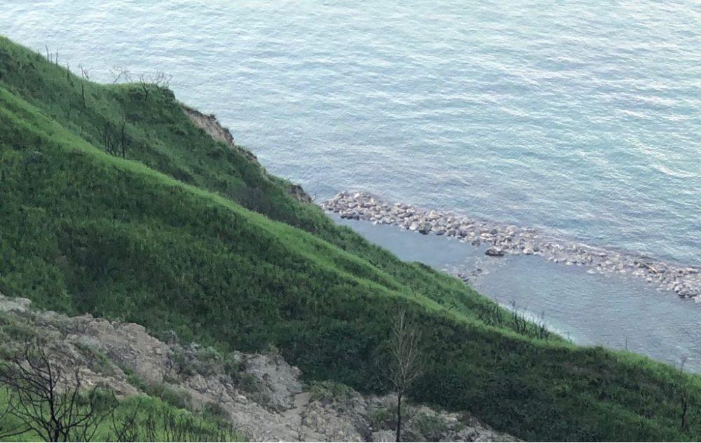 La Canonica, la vista sul Mare Adriatico dal Parco di San Bartolo