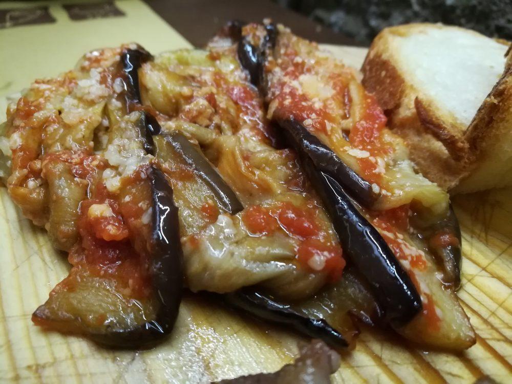 Le Melanzane alla parmigiana