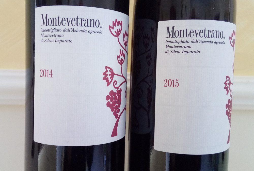Montevetrano Colli di Salerno Igt 2014 e 2015