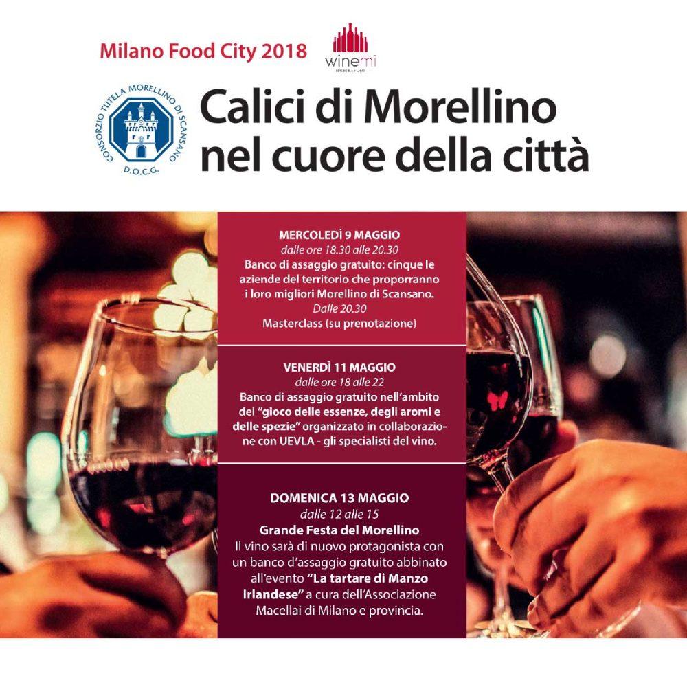 Morellino di Scansano in degustazione a Milano