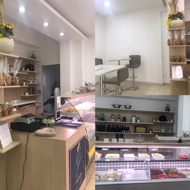 Pastificio Golino - Sala degustazione e banco espositivo