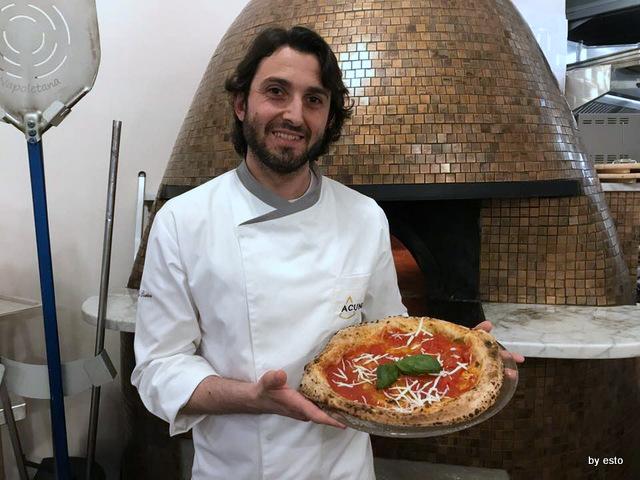 Pizzeria Acunzo Gabriele Sorice con Cosacca