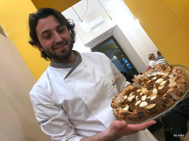 Pizzeria Acunzo Gabriele Sorice con Regno delle due Sicilie la genovese