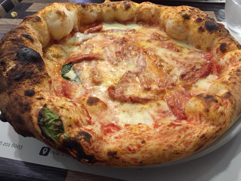 Pizzeria I Quintili, la Diavola