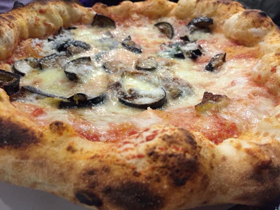 Pizzeria I Quintili, la parmigiana