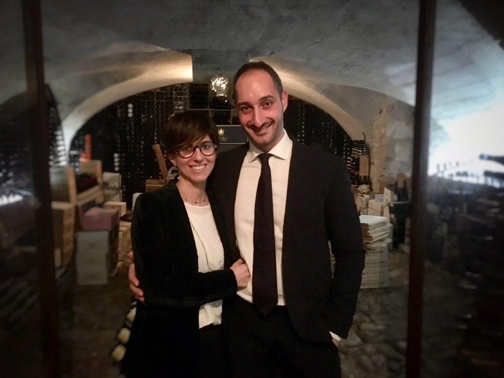 Reale, Cristiana Romito e Gianni Sinesi