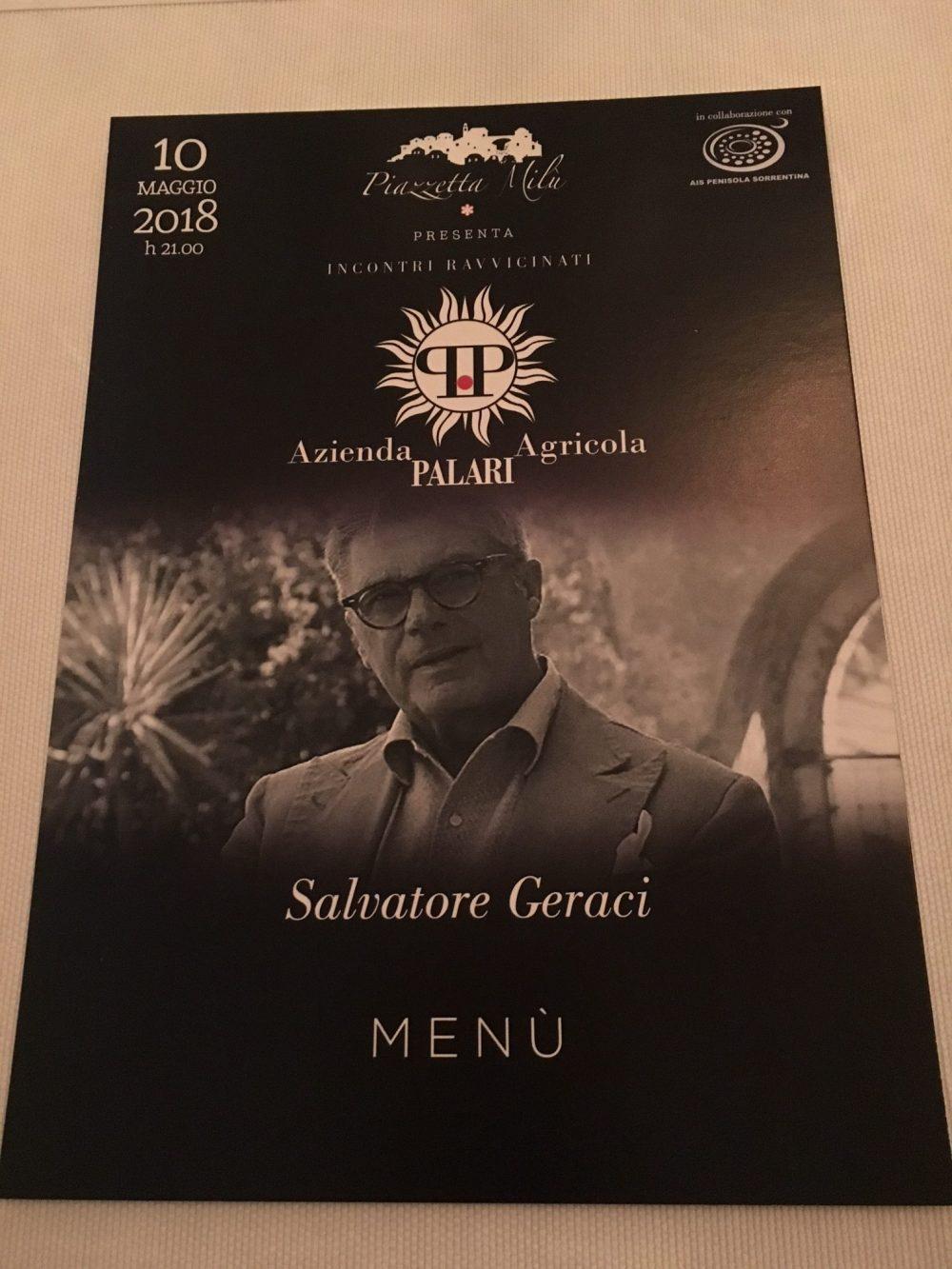 Salvatore Geraci Piazzetta Milu'