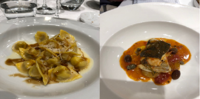 Sartarelli ed i 50 Anni - Tortellini e Orata