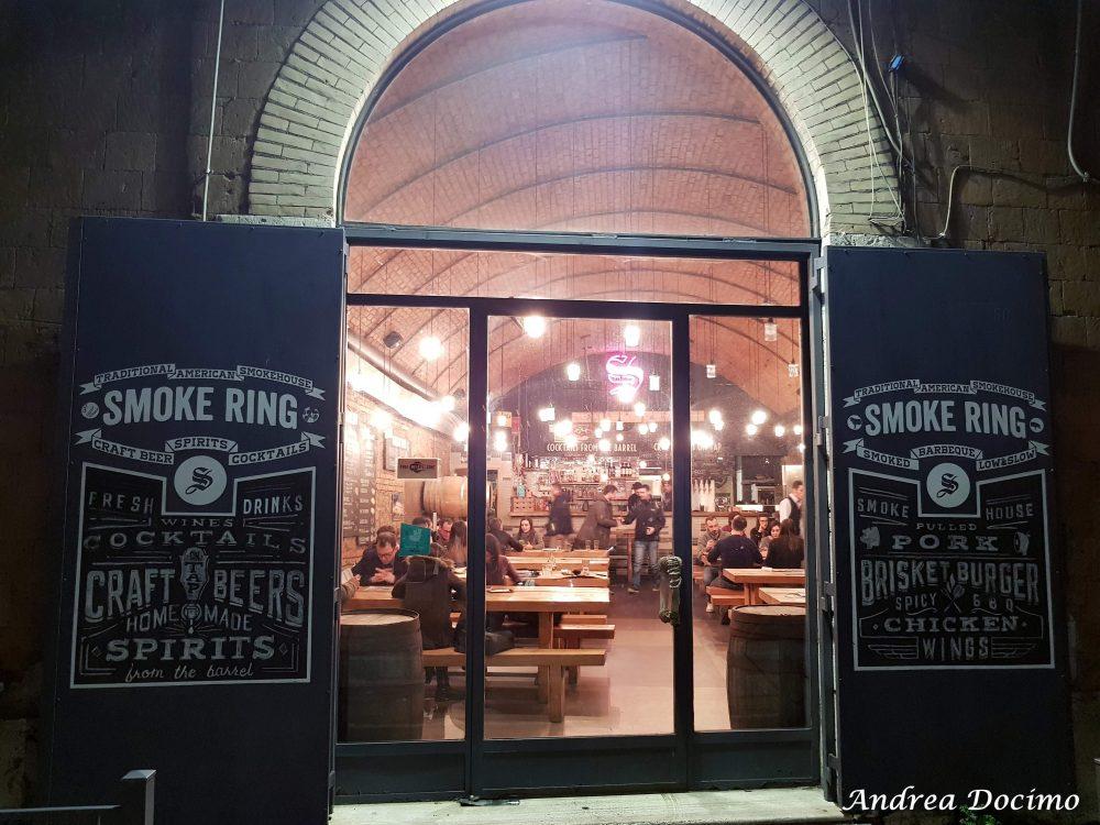 Smoke Ring, Roma. L'ingresso