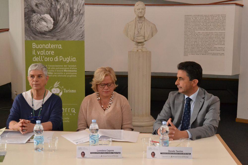 Vittoria Cisonno, Loredana Capone, Donato Taurino