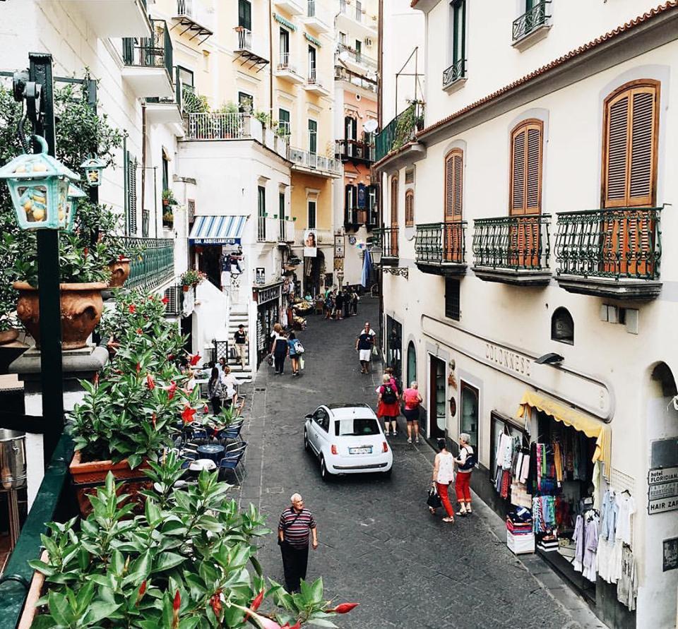 da Gemma - Veduta sul corso di Amalfi