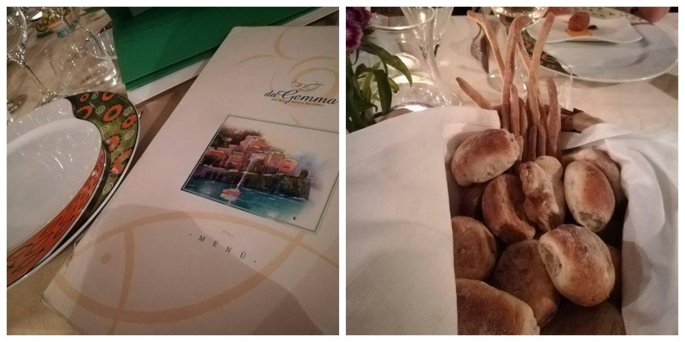 da Gemma - Il menu' e il pane