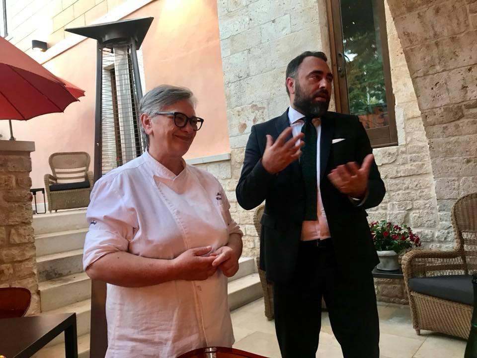 Antonello Magista' con Maria Cicorella