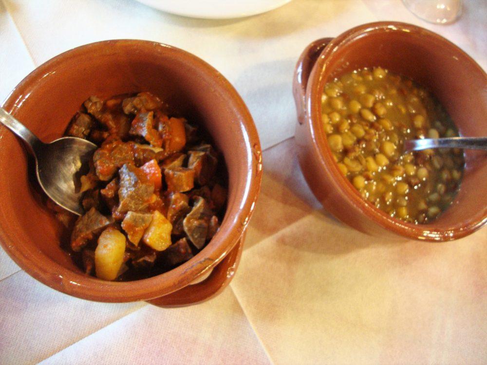 Trattoria La Conca – la zuppa di legumi e il soffritto