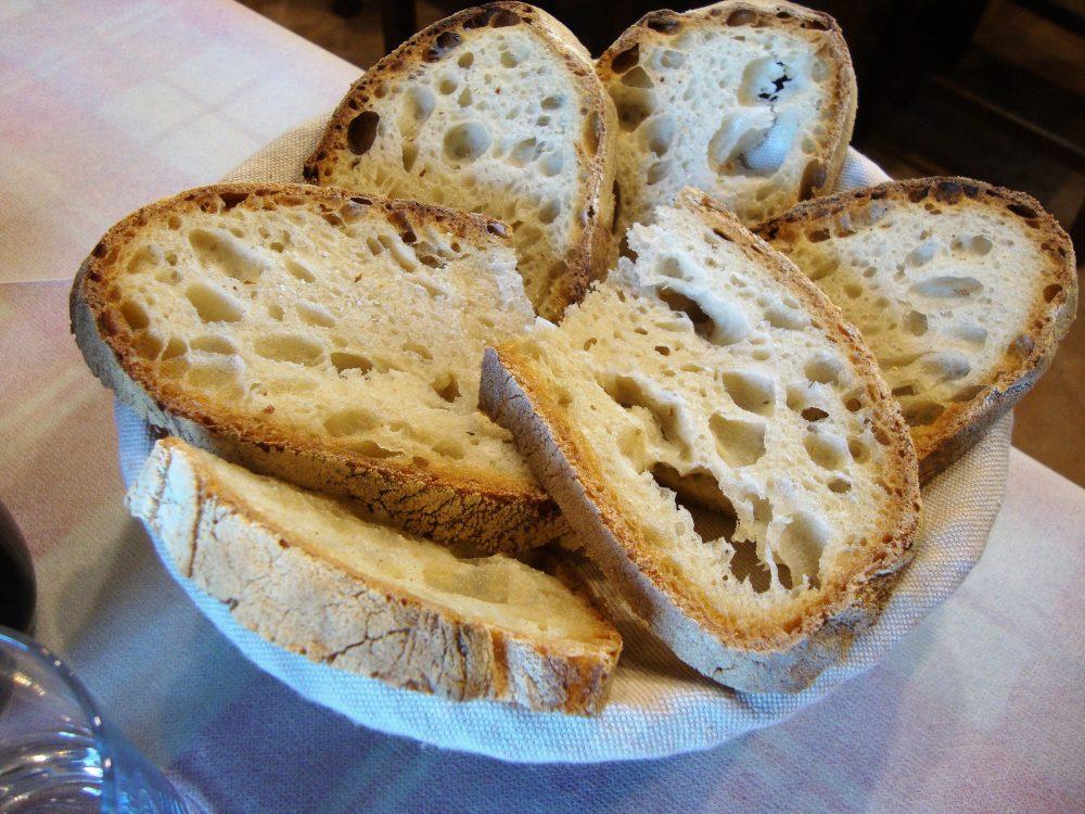 Trattoria La Conca – il pane