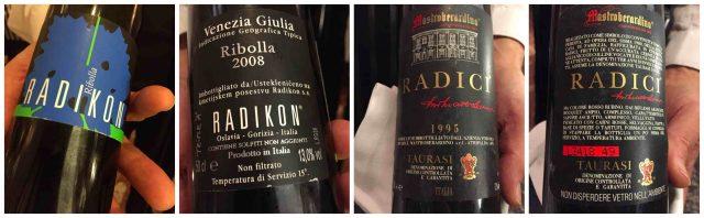 La Caravella, il Menu dei 60 anni, i vini