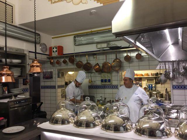 La Caravella, la cucina