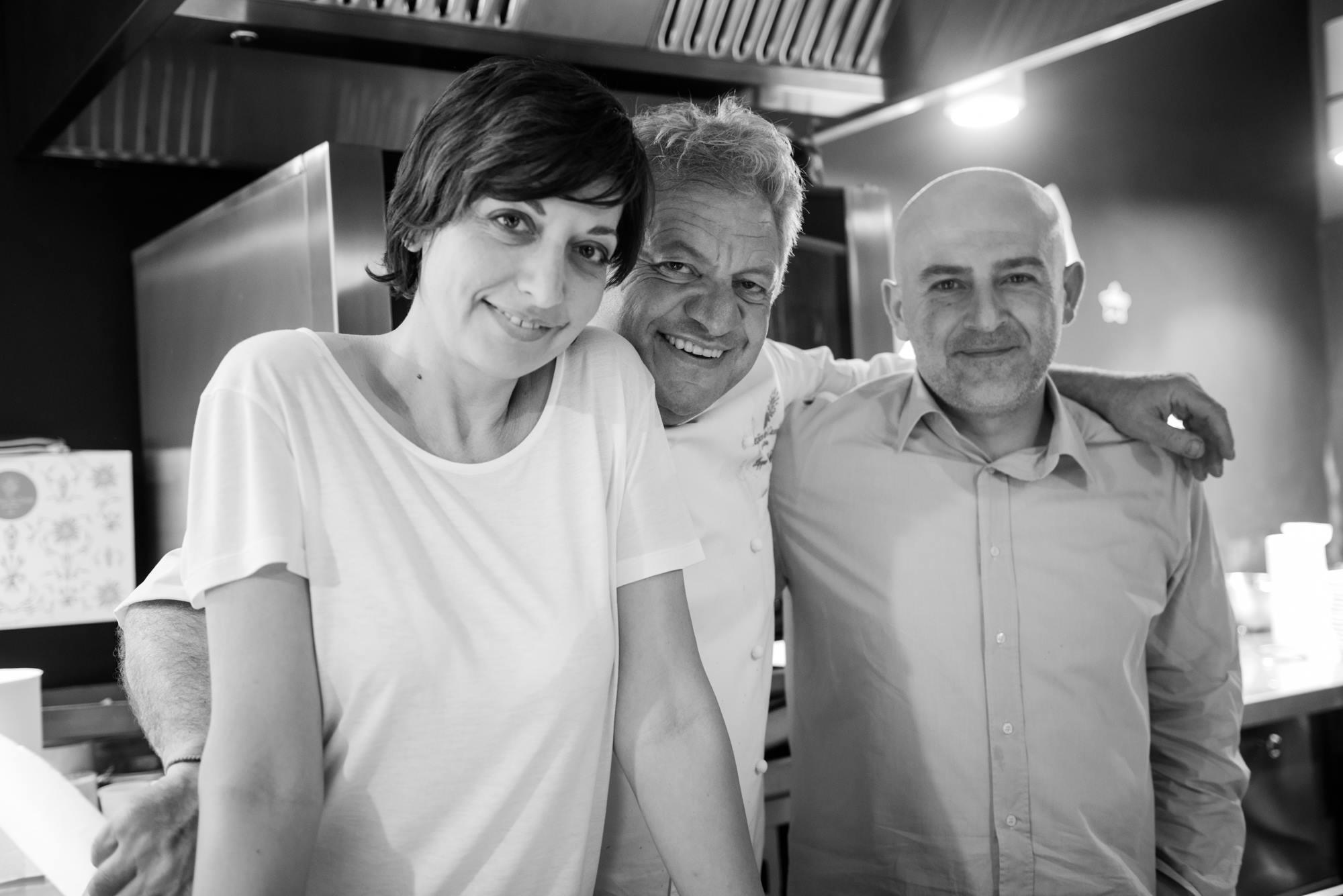 Barbara Guerra, Peppe Guida e Albert Sapere