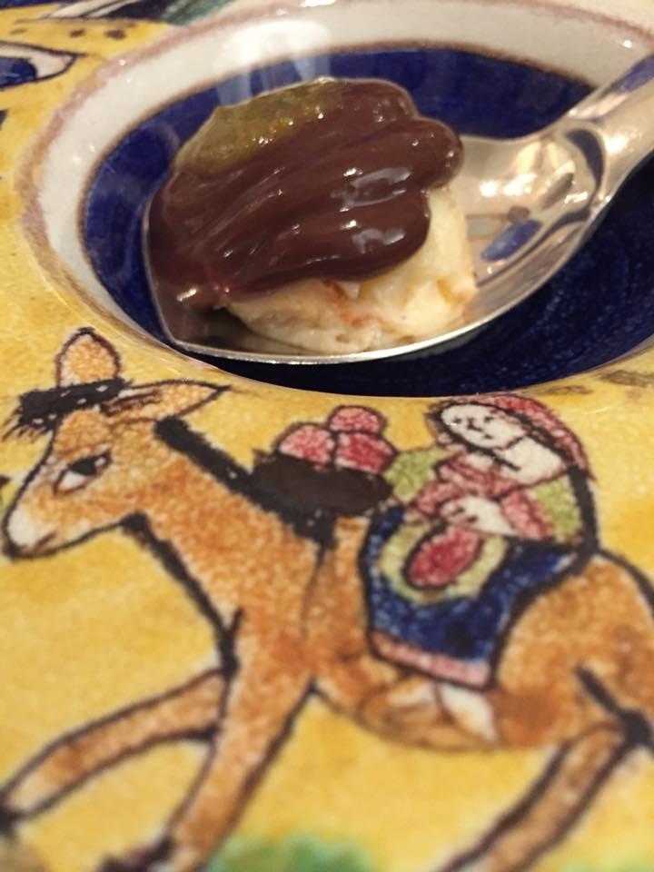 La Caravella, melanzana al cioccolato
