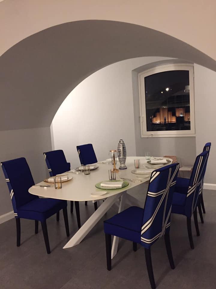Il Buco a Sorrento, uno dei tavoli nella nuova sala