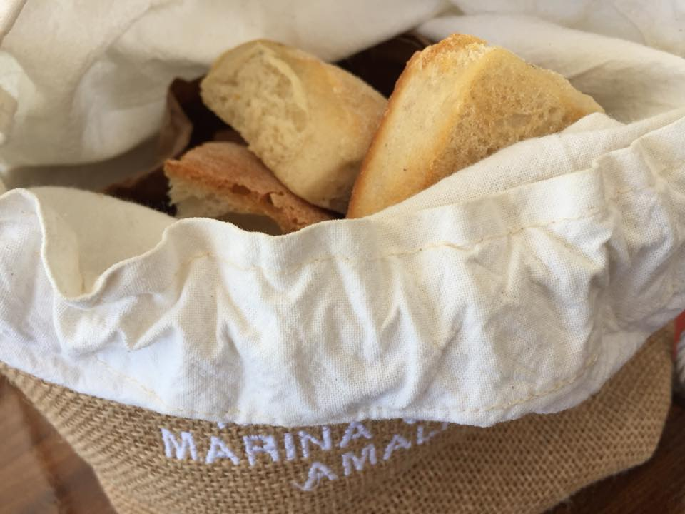 Marina Grande, il pane