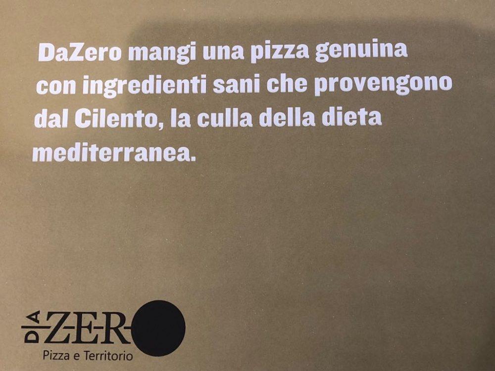 Da Zero, Pizza e territorio