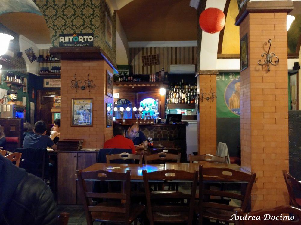 Demetra Pub Birreria a Pontecagnano Faiano. Gli interni