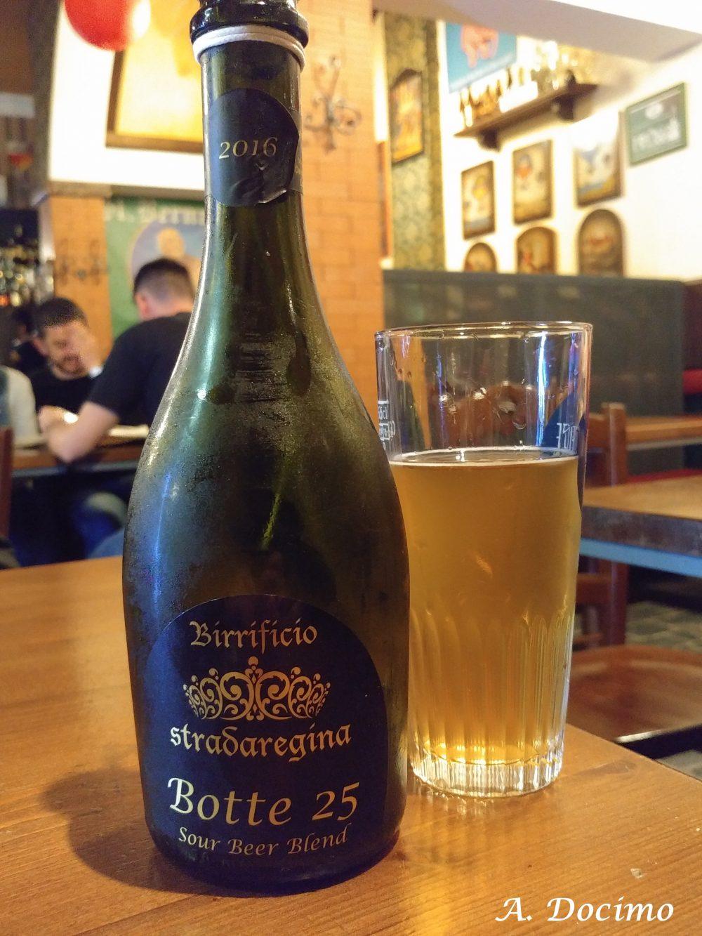 Demetra Pub Birreria a Pontecagnano Faiano. La Botte 25 del 2016 del Birrificio Stradaregina