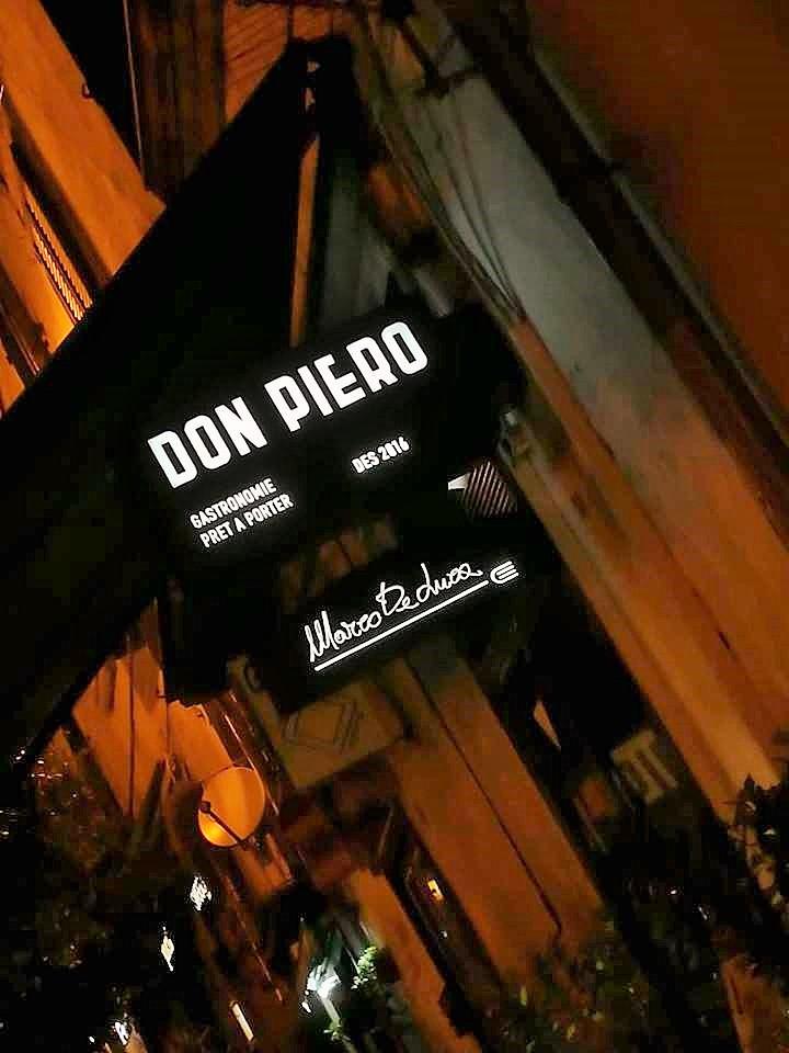 Don Piero - L'insegna del locale