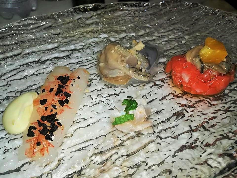 Don Piero - Cruditee, mazzancolla, ceviche, ostica e salmone