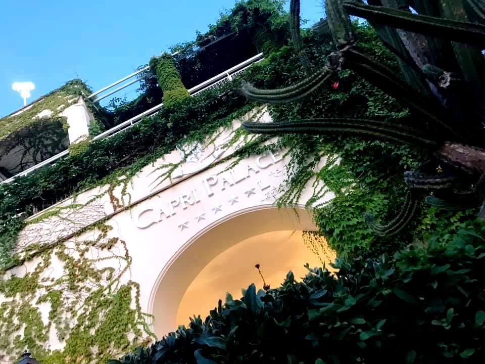 L'Olivo, si entra al Capri Palace
