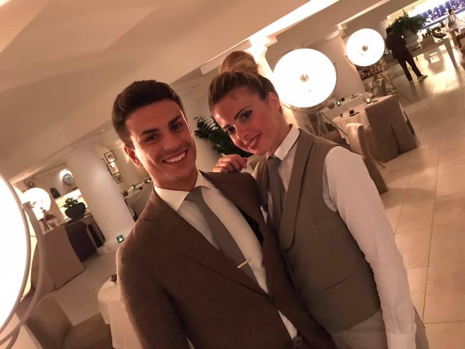 I Giovani di Sala nel 2019...Giuseppe Zuottolo e Chiara Martino