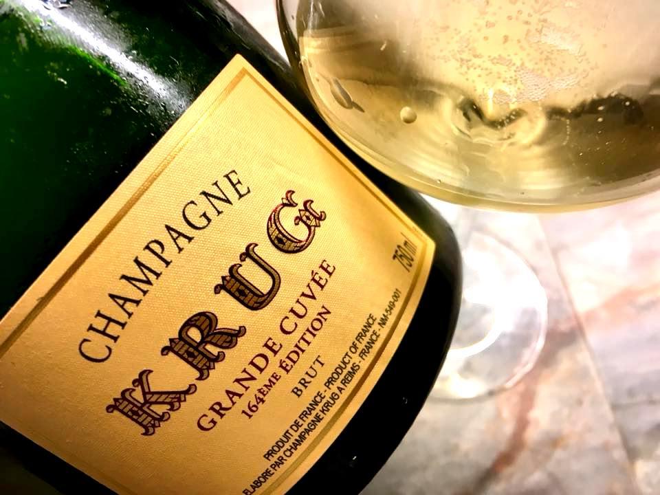 Habitue' - Vin & Cusine - Krug Grande Cuvee 164Ed