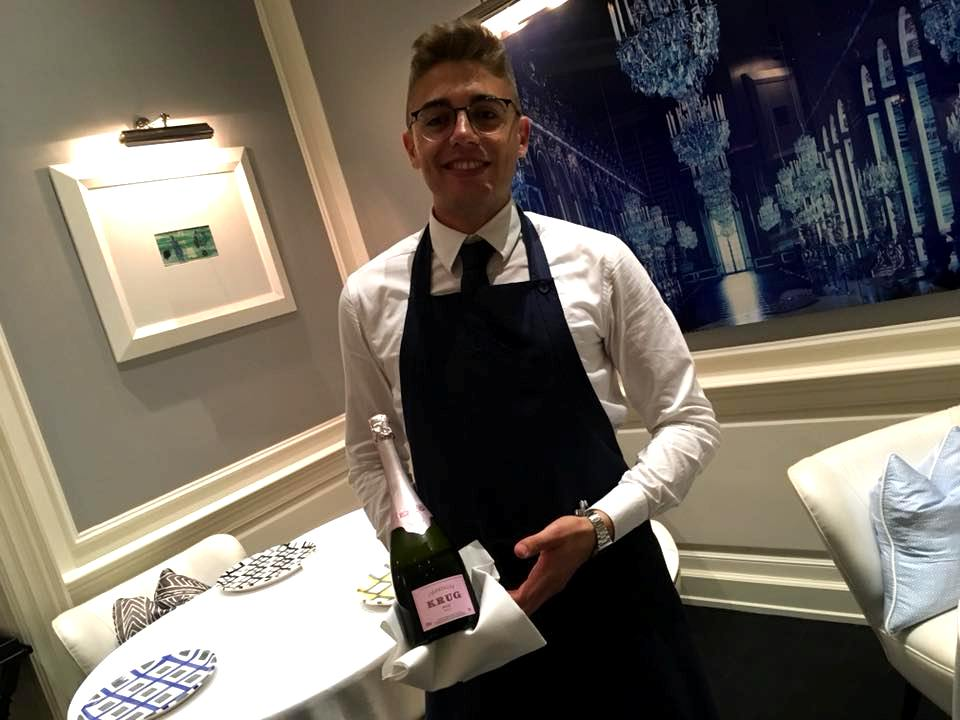 Il Sommelier Riccardo Russo