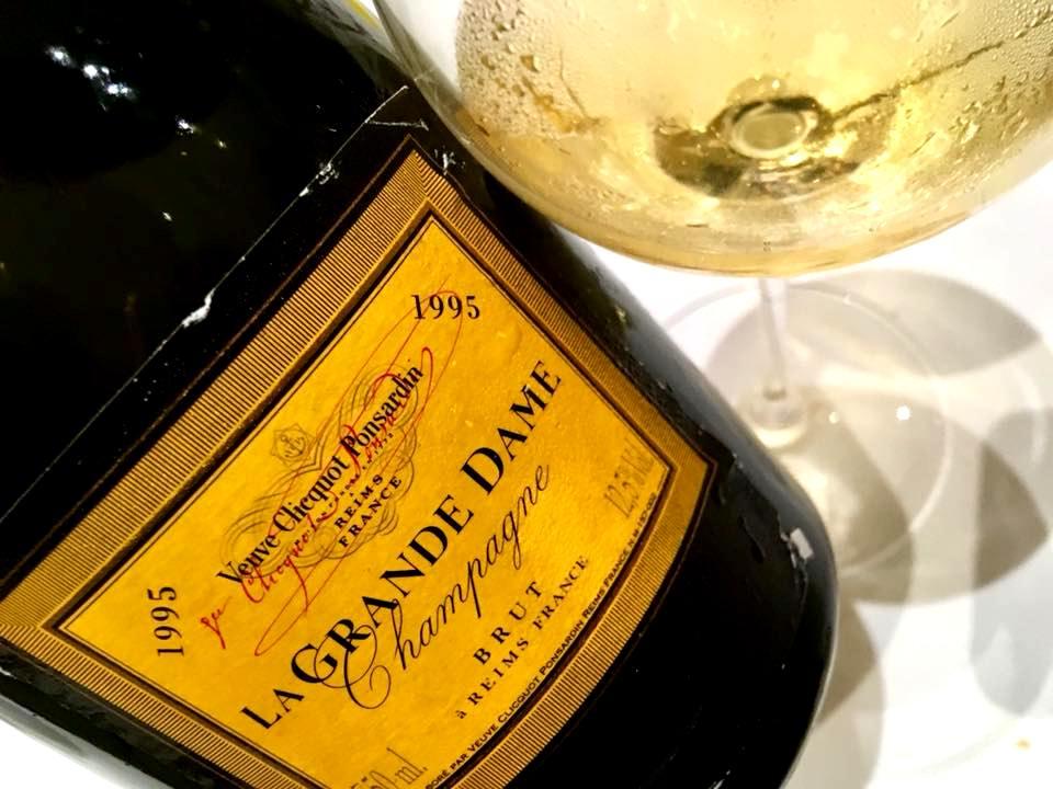 Jkitchen - Champagne Veuve Clicquot La Grande Dame 1995