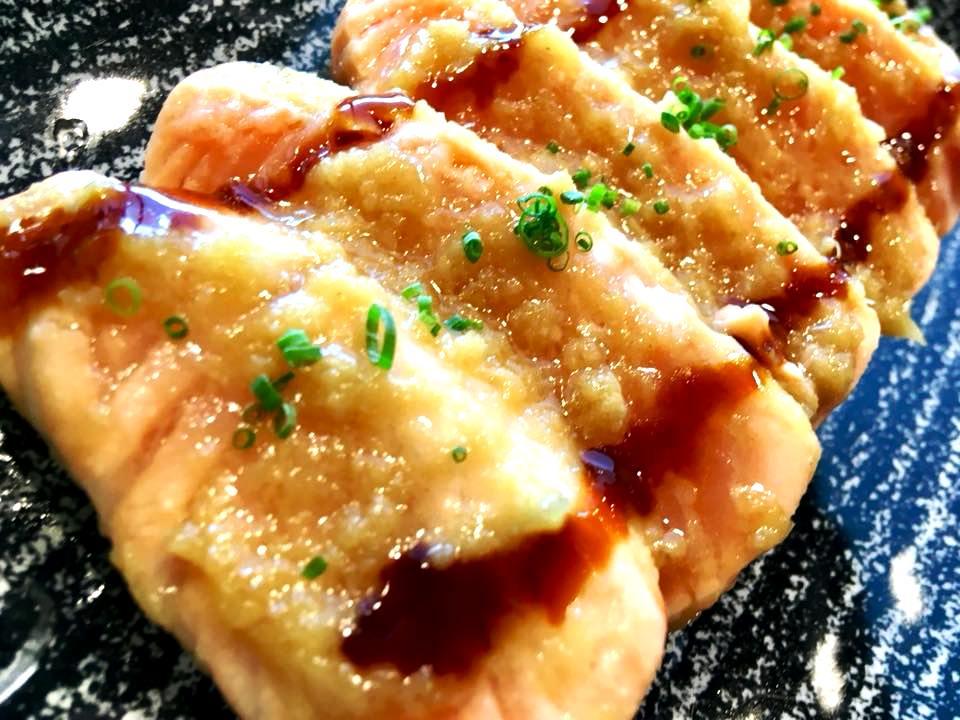 Misaki Sushi - Tataki di Salmone