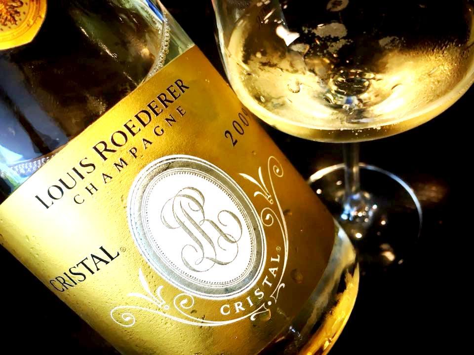Misaki Sushi - Champagne Louis Roderer Cristal Vintage 2009