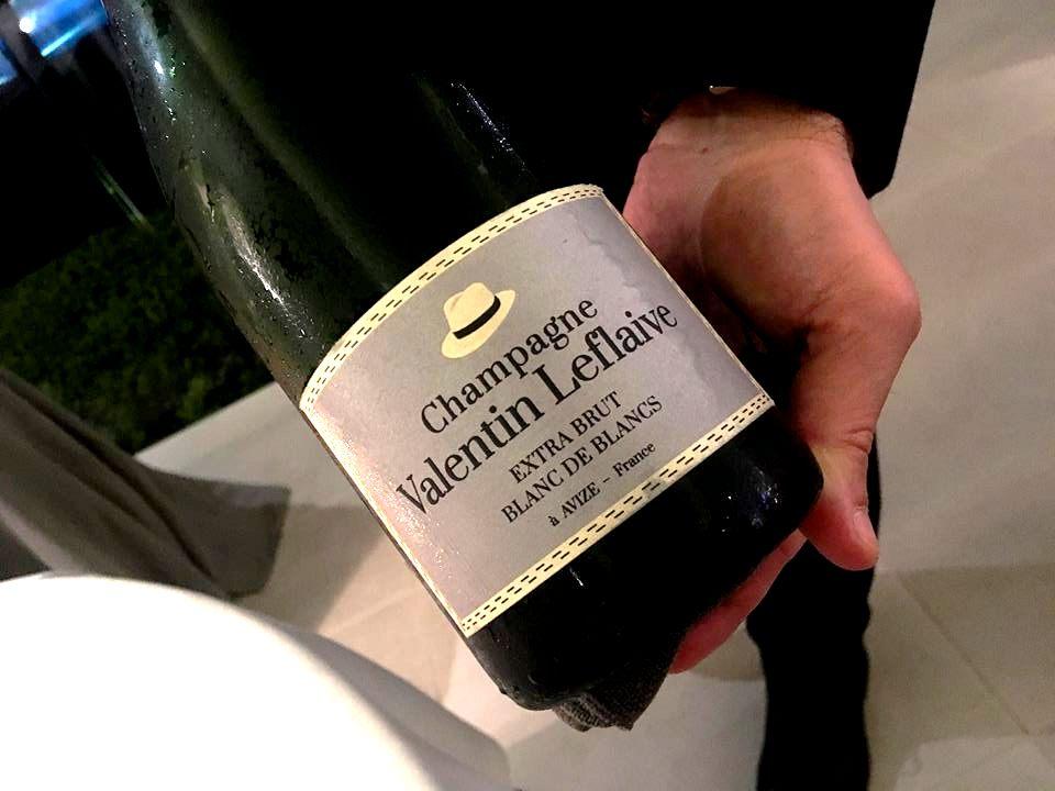 L'Olivo del Capri Palace - Champagne Valentin Leflaive Extra Brut