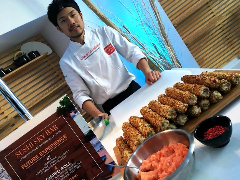 GIAPPO SKY, Il Giappo Roll & Lo Chef Jun