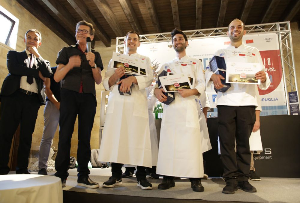 FoodExp I tre vincitori Chef Emergenti Puglia