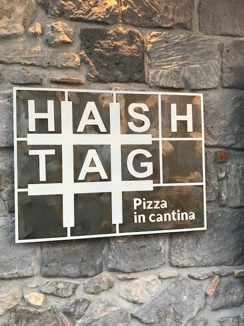 Hashtag - Pizza in Cantina - Targa