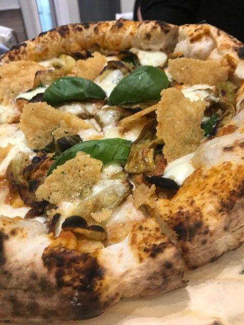 I Masanielli Sasa' Martucci - Pizza Parmigiana 2.0