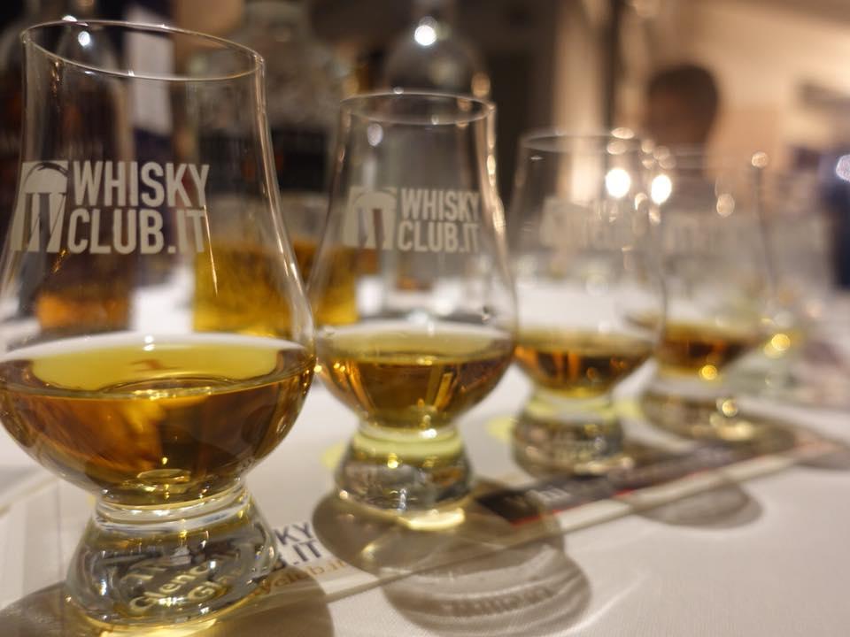 Il Tino, alcuni whisky della serata