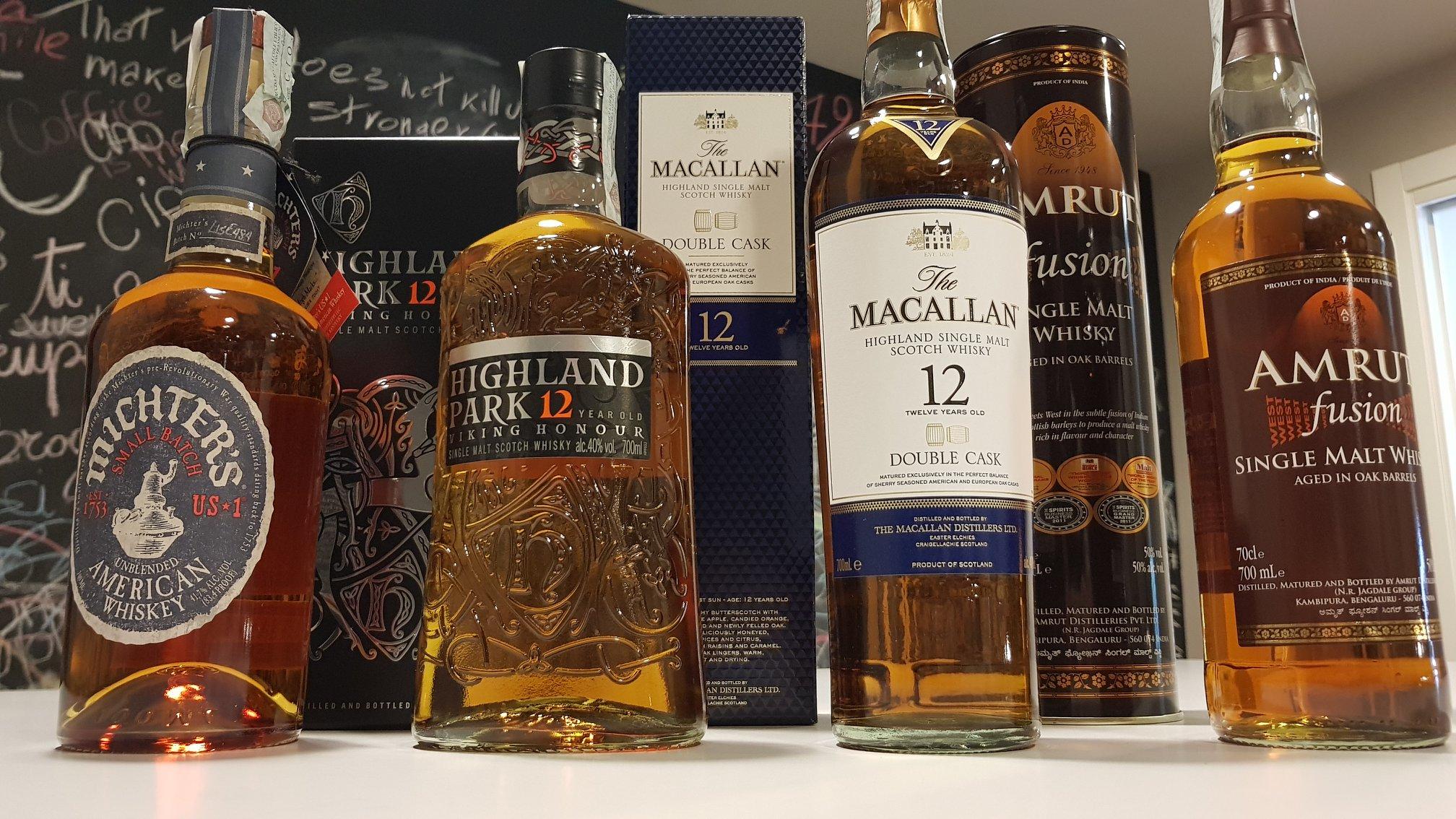 Il Tino, i whisky della serata