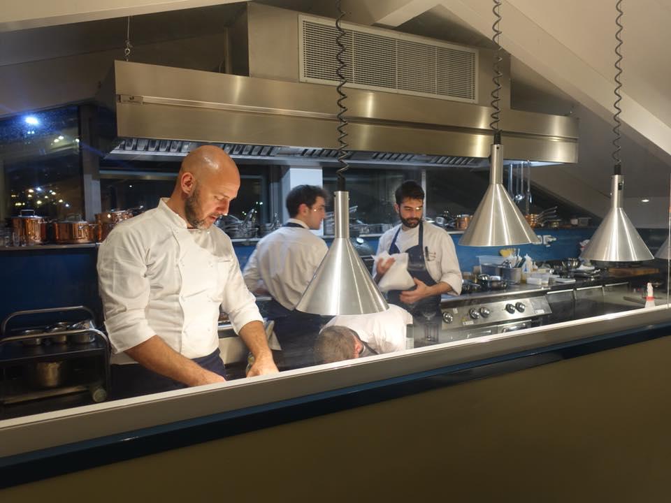 Il Tino, la nuova cucina a vista