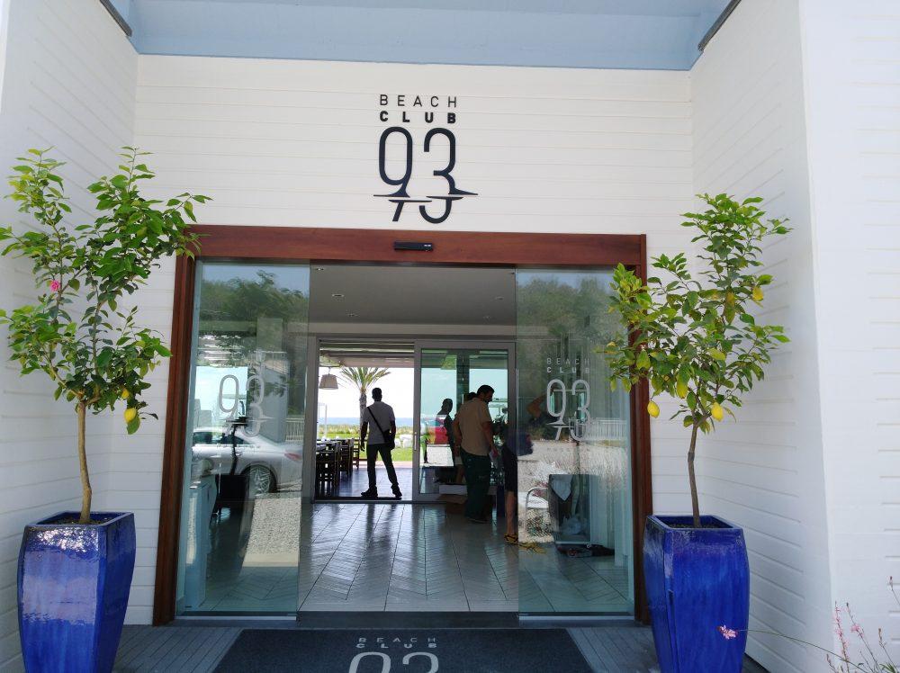 Ingresso Beach Club 93