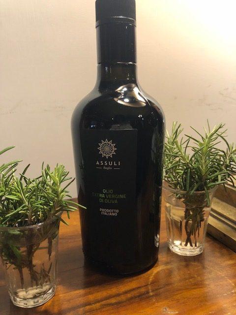 L'olio evo di Assuli da Nocellara e Biancolilla