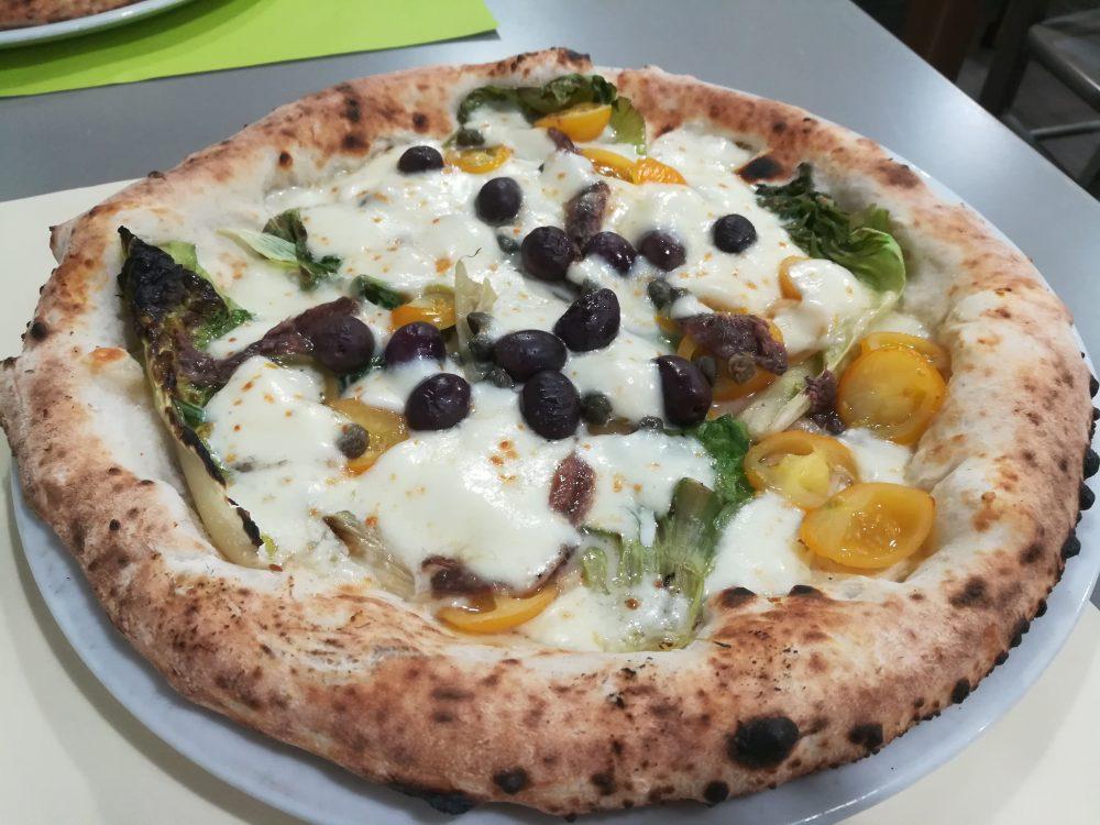Ristro', La Pizza con la Scarola