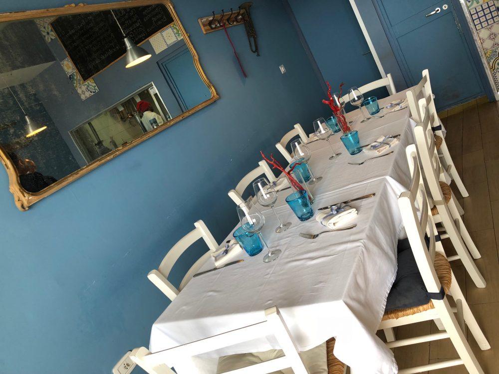 La Taverna del Mozzo, Saletta