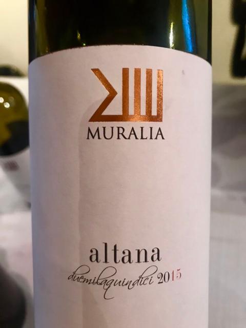 Muralia Altana Rosso Doc 2015